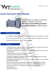 weice cyclic corrosion test chambers brochure